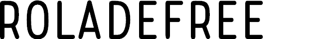 Preview image for RoladeFree Font