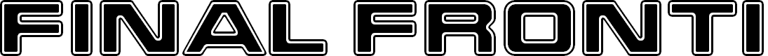 Preview image for Final Frontier Shipside Font