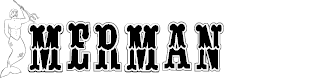 Preview image for BJF Merman Font