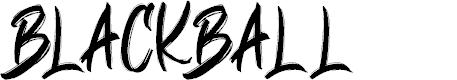Preview image for BLACKBALL Font
