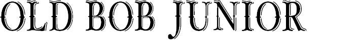 Preview image for OLD BOB JUNIOR_demo Font