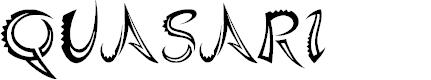 Preview image for Quasari Font