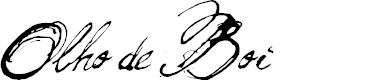 Preview image for Olho de Boi   Font