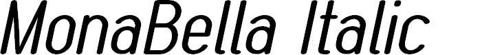 Preview image for MonaBella Italic