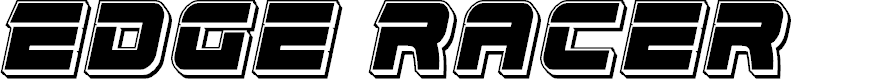 Preview image for Edge Racer Punch Italic