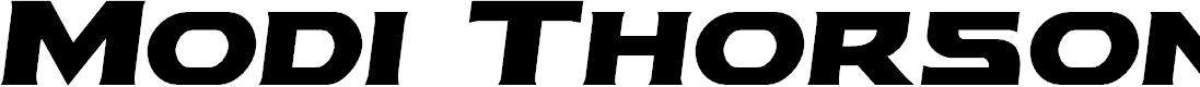 Preview image for Modi Thorson Semi-Italic