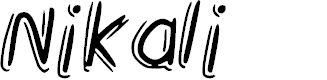 Preview image for Nikali Font