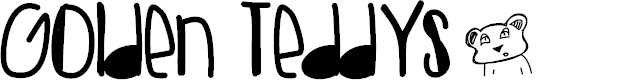 Preview image for GoldenTeddys Font