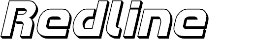 Preview image for Redline 3D Italic