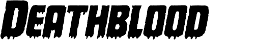 Preview image for Deathblood Italic