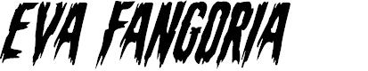 Preview image for Eva Fangoria Super-Italic