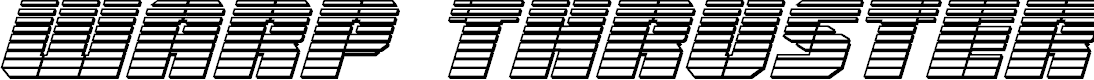 Preview image for Warp Thruster Chrome Italic