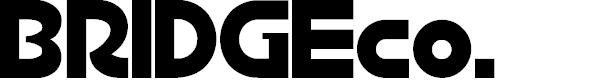 Preview image for BRIDGEco. Font