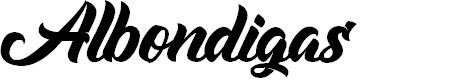 Preview image for Albondigas Font