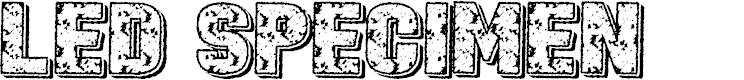 Preview image for Led Specimen Font