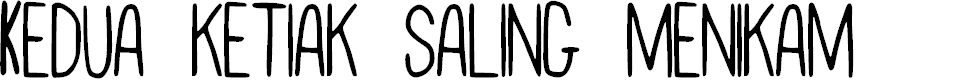 Preview image for SKOYArwahTuyul Font