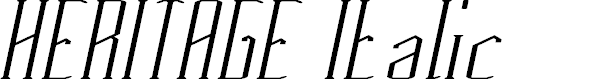 Preview image for HERITAGE Italic