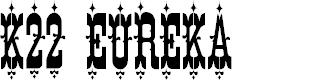 Preview image for K22 Eureka Font