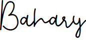 Preview image for Bahary Font