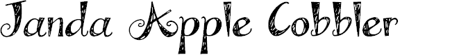 Preview image for Janda Apple Cobbler Font