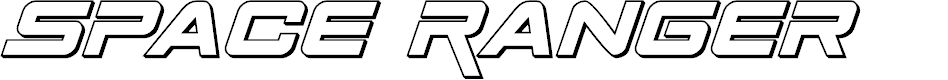 Preview image for Space Ranger 3D Italic