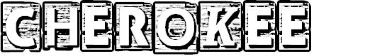 Preview image for CF Cherokee Regular Font