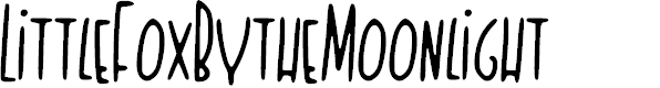 Preview image for Little_Fox_By_the_Moonlight Font