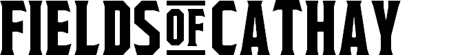 Preview image for Fields of Cathay Regular Font
