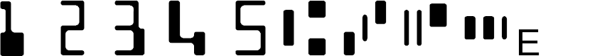 Preview image for MICR Encoding Font