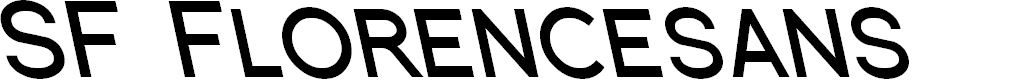 Preview image for SF Florencesans SC Rev Bold Italic