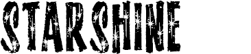 Preview image for StarshineMF Font