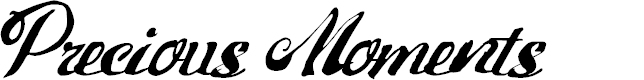 Preview image for PreciousMoments Font