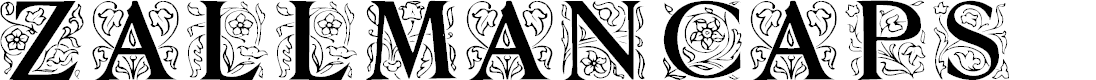 Preview image for ZallmanCaps Font