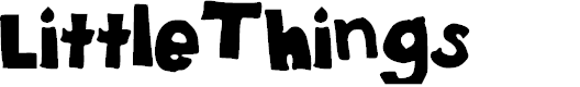 Preview image for Little_Things Font