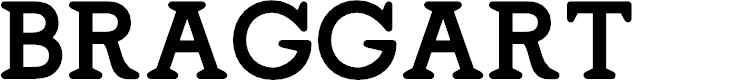 Preview image for Braggart-Regular Font