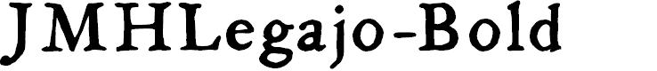 Preview image for JMHLegajo-Bold