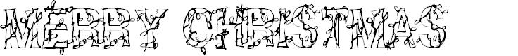 Preview image for CF Christmas Shit Regular Font