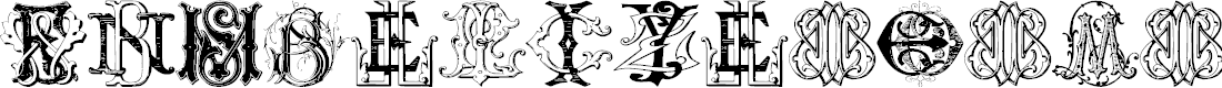 Preview image for Sughayer Initials_02 Font