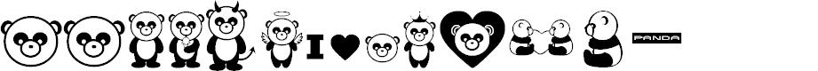 Preview image for Pandamonium BV Font