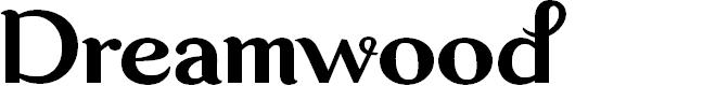 Preview image for Dreamwood DEMO Regular Font