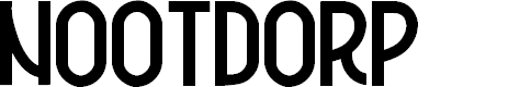 Preview image for Nootdorp Font