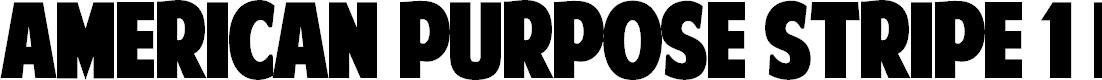 Preview image for American Purpose STRIPE 1 Normal