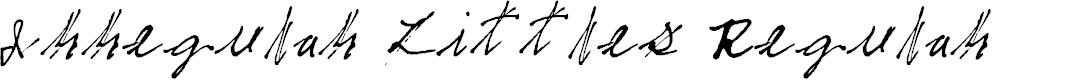 Preview image for Irregular Littles Regular Font