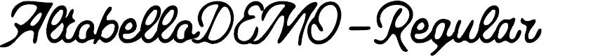 Preview image for AltobelloDEMO-Regular Font