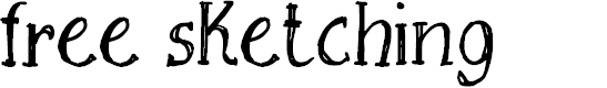 Preview image for Free Sketching_free-demo Font