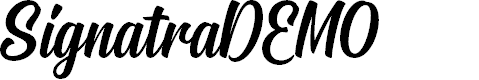 Preview image for SignatraDEMO Font