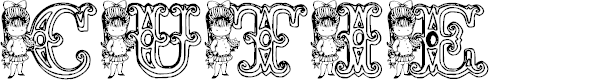 Preview image for KG CUTIE1 Font