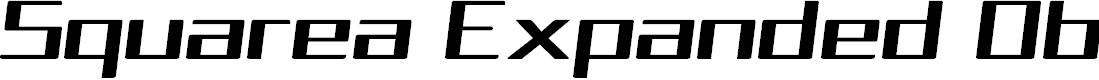 Preview image for Squarea Expanded Oblique