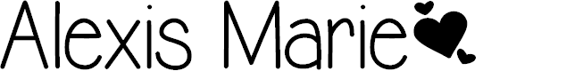 Preview image for Alexis Marie Font