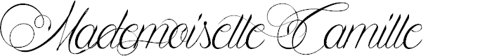 Preview image for Mademoiselle Camille Font